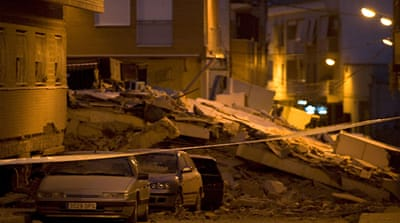 Southeast Spain rattled by rare quakes