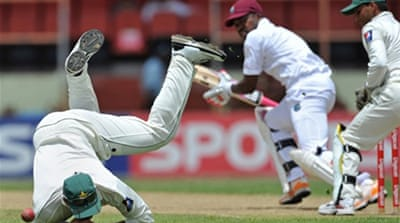 Pakistan on top against Windies