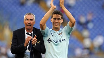 Lazio move into fourth