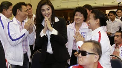 Thaksin sister to run for Thai PM