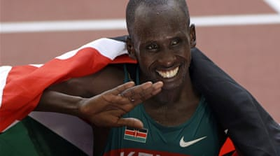 Kenyan marathon star falls to death