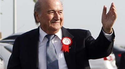 Blatter gets African support