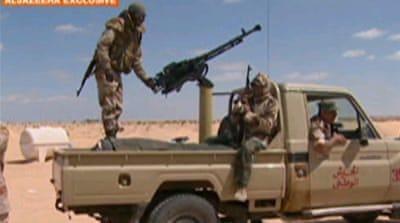Odds test rebels in eastern Libya