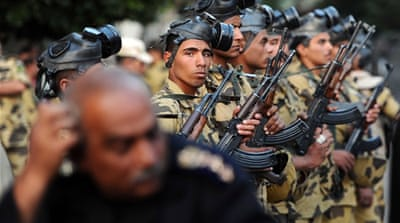 Egypt's crackdown now wears camouflage