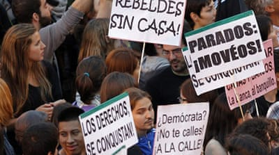 Spain's poll commission seeks ban on protests