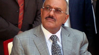 Saleh calls for early Yemen elections