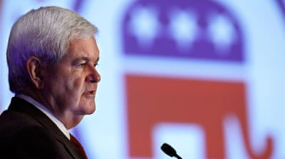 Newt Gingrich, eternal victim