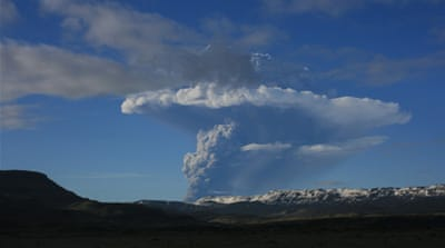 Iceland's most active volcano erupts