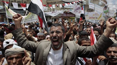 Gunbattle in Yemen as Saleh remains defiant