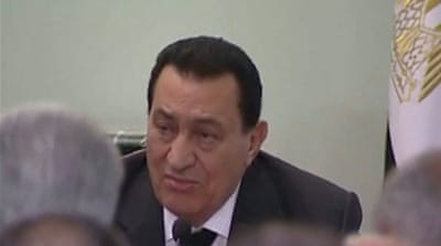 Egypt's Mubarak to stand trial