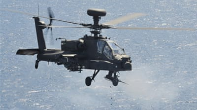 NATO sends attack choppers to Libya