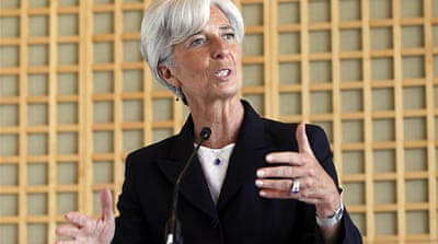 Lagarde bids for IMF top job