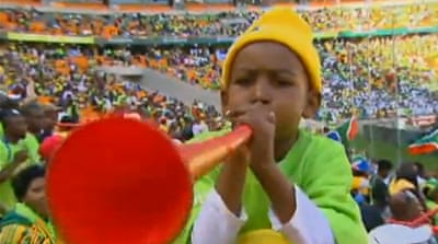 'Vuvuzelas could spread diseases'