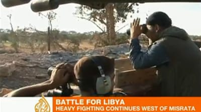 Libyan rebels continue their struggle