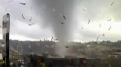 Tornado wreaks havoc in New Zealand
