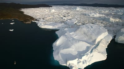 Arctic ice melt 'alarming'