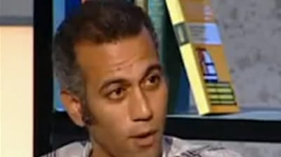 Egyptian army questions blogger and TV host
