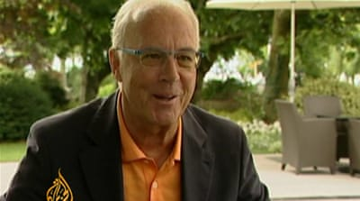 Beckenbauer says FIFA is 'Blatter's baby'