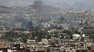 Dozens killed in overnight clashes in Sanaa