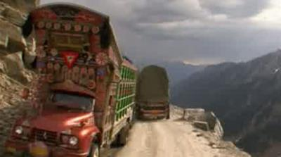 Pakistani truckers' perilous journey