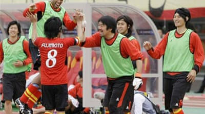Nagoya reach knockout stages