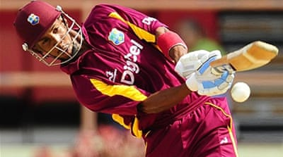 Simmons steers West Indies to victory