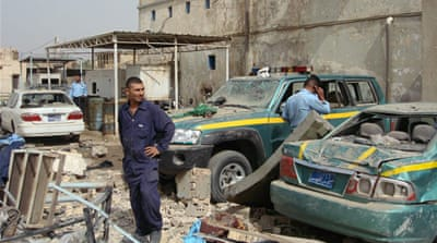 Policemen killed in Iraq suicide bombing