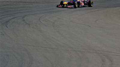 Vettel cruises to third win of season