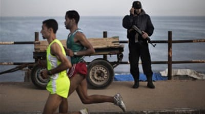 In Pictures: Gaza marathon