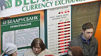 Belarus seeks emergency IMF bailout