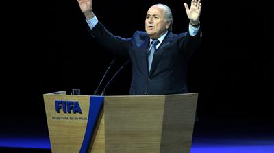 Unopposed Blatter re-elected by FIFA