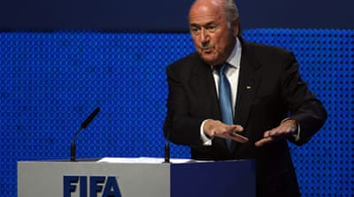 Blatter set to ride out the storm