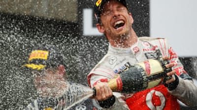 Button blasts to Grand Prix victory