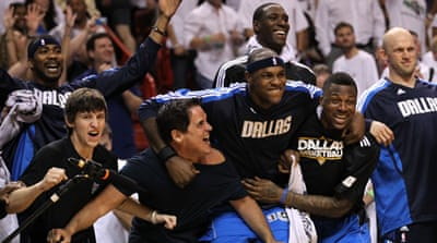 Mavericks win their first NBA Finals