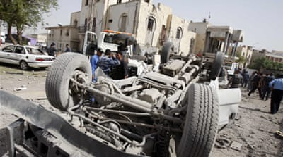 Suicide blast kills five in Iraq's Basra city