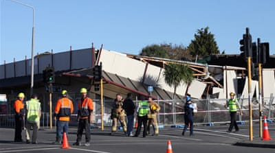 Christchurch jolted by series of quake shocks