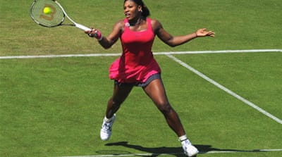 Williams wins comeback match