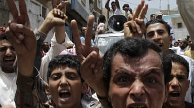 Anti-government protests continue in Yemen