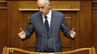 Greek PM warns against 'catastrophic' default
