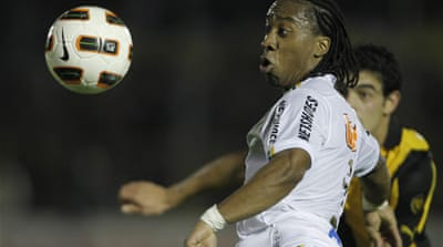 Santos take goalless draw back to Brazil