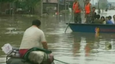 China ravaged by severe floods