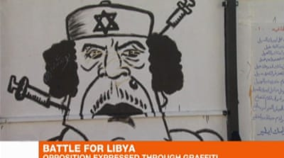 Freedom of expression explodes in Libya