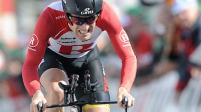 Leipheimer wins Tour of Switzerland