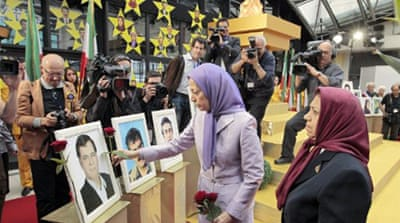 Iranian opposition group urges protection