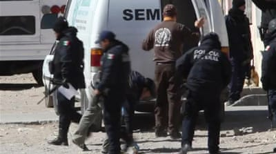 Crime scenes in Juarez