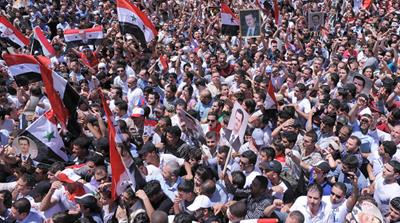Syrians react to Assad's speech
