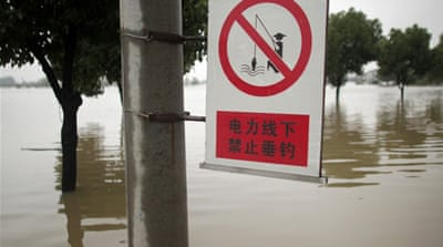 Millions affected by China flooding