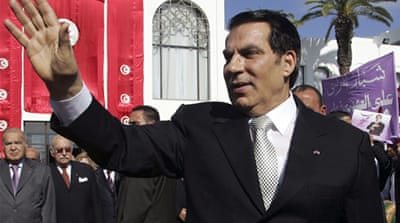 Ben Ali and wife 'guilty of theft'