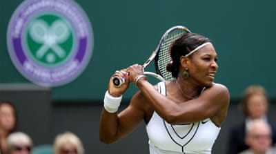 Serena wins emotional comeback