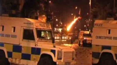 Shots fired in Northern Ireland riots